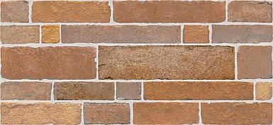 Плитка 2-й сорт BRICK Стена красно-коричневая / 2350 50 022