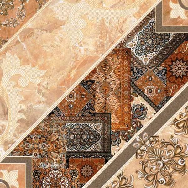 Плитка 2-й сорт CARPETS Пол коричневый темный/4343 84 032