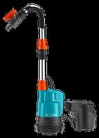 """Аккумуляторный Насос для резервуаров с дождевой водой /1.9bar./+ Батарея Li-ion 18V+ Зардное. 2000/2 """"GARDENA"""""""