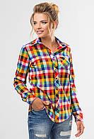 Рубашка в разноцветную клетку, фото 1
