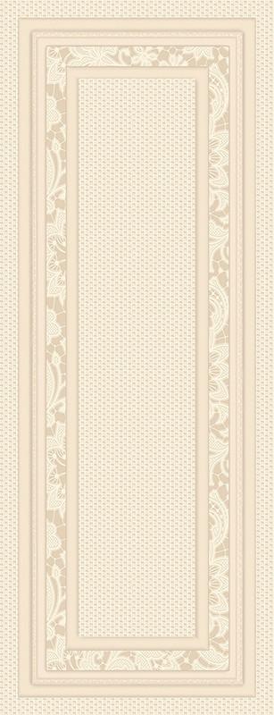 Плитка 2-й сорт LUCENZE настенная бежевая светлая рельеф/ 2360 154 021/Р