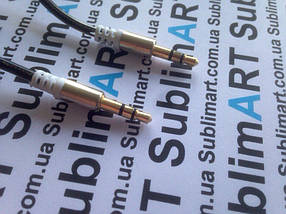 AUX кабель портативный mini-jack на пружине, фото 3