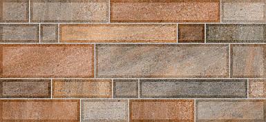 Плитка 2-й сорт METRO Стена коричневая темная / 2350 59 032
