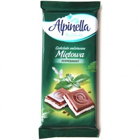 Шоколад Alpinella Mięta