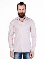 Рубашка мужская классическая бургунди L Cipo&Baxx