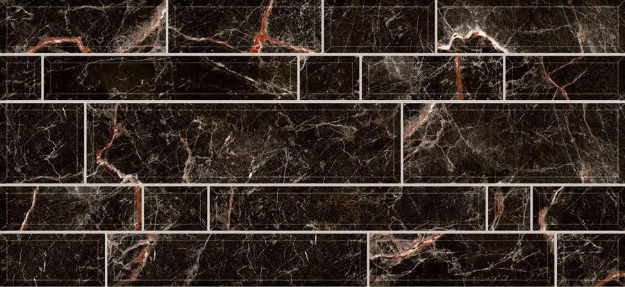 Плитка 2-й сорт PLAZA Стена черная/2350 95 082 , фото 2