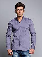 Рубашка мужская классическая пурпурная L Cipo&Baxx