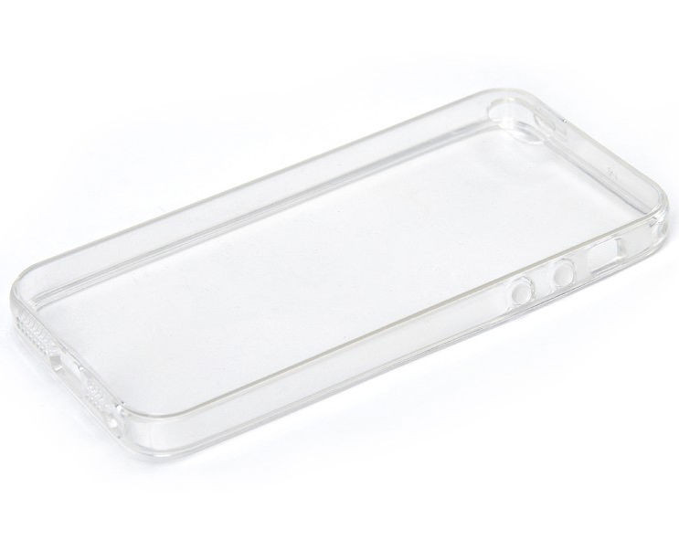 Чехол прозрачный силиконовый для iphone 5, 5s