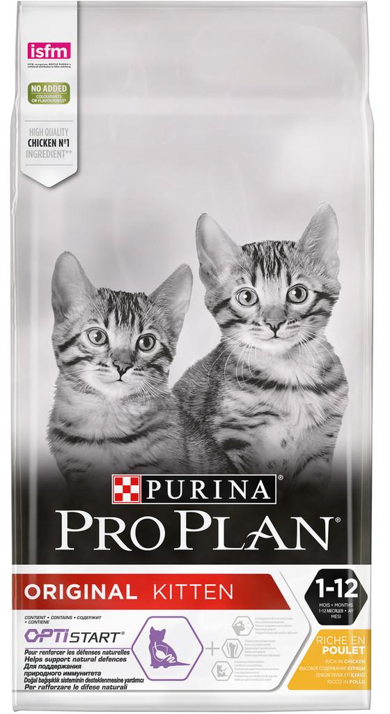 Корм для котят Purina Pro Plan Original Kitten