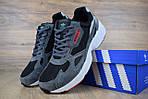 Кроссовки Adidas Falcon, серо-черные, фото 4