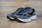 Кроссовки Adidas Falcon, серо-черные, фото 6