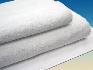 Полотенце махровое отельное белое Varol 50х90 см