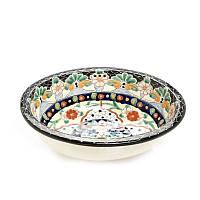 Росписная мексиканская раковина врезная для ванной комнаты, в наличии большой выбор на складе. LORET
