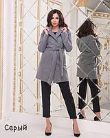 Женское демисезонное шерстяное пальто , фото 1