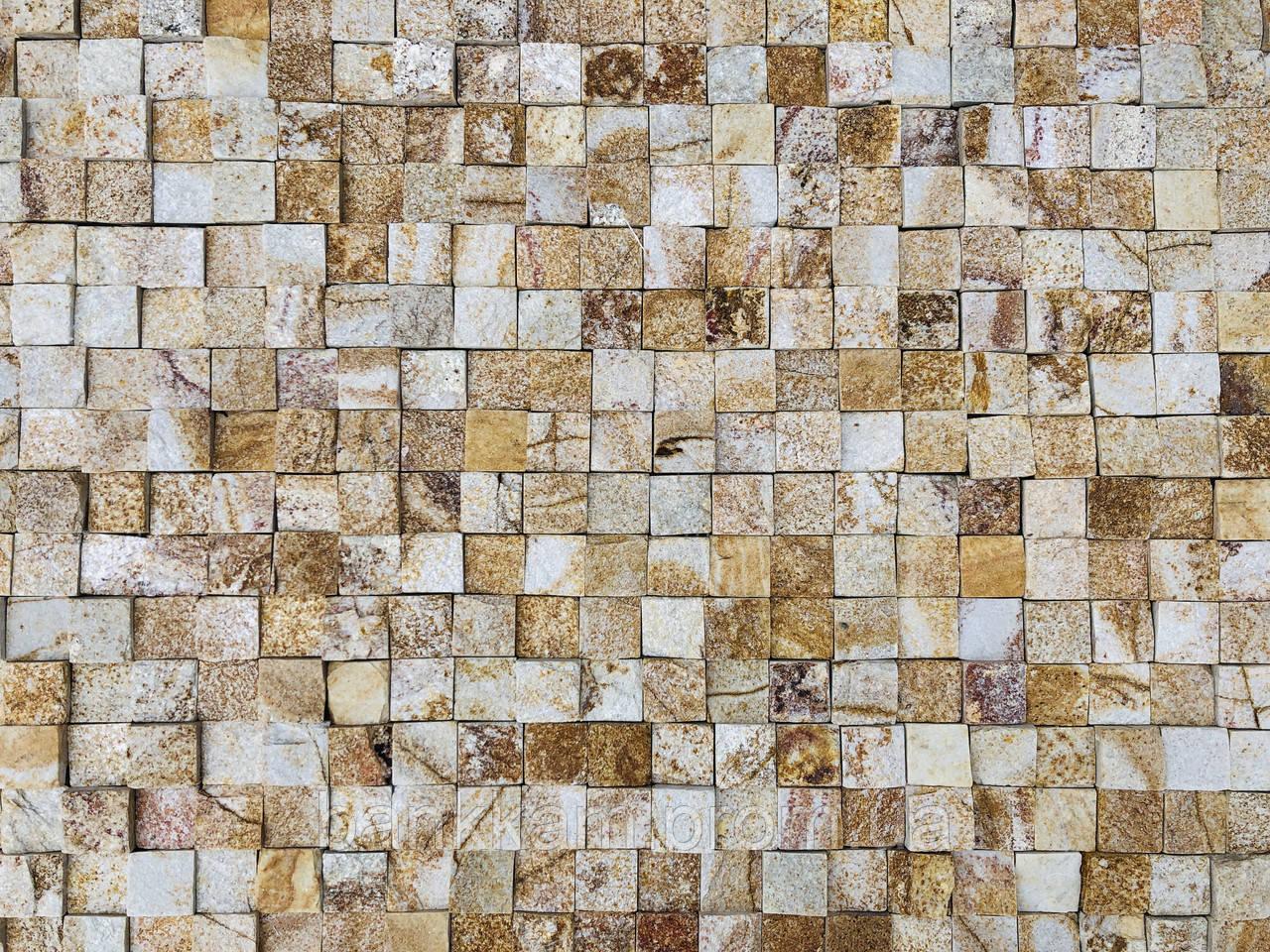 Мозаїка-панель Золота Болгарія преміум (без шва для фуги; уп. 0,5 кв.м.)