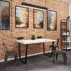 Обеденный стол Бинго Лайт черный бархат/аляска (Металл дизайн)
