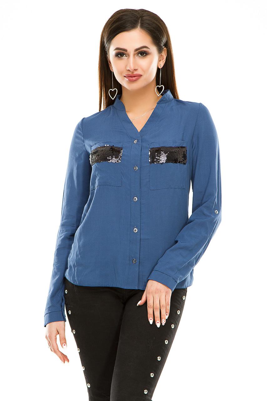 Блузка 290  джинс