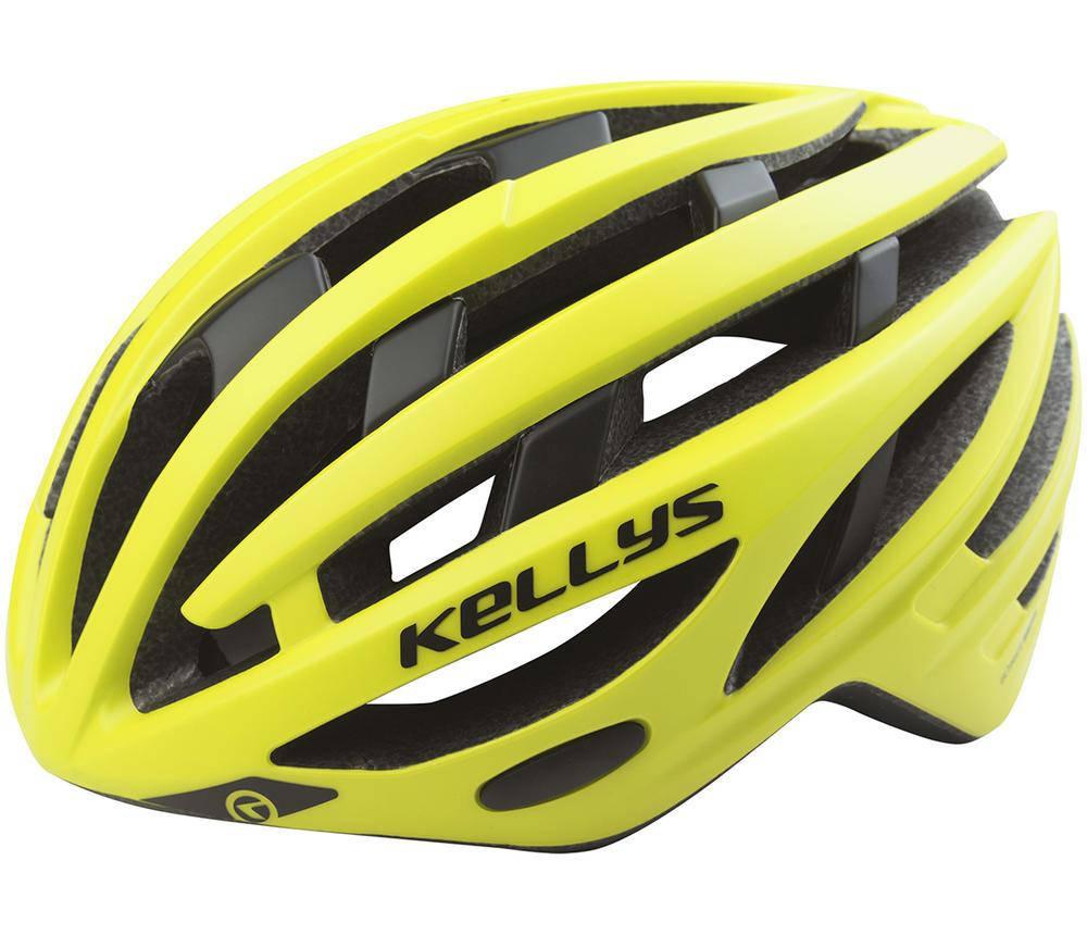 Шолом велосипедний KLS SPURT M-L Neon Yellow, фото 2