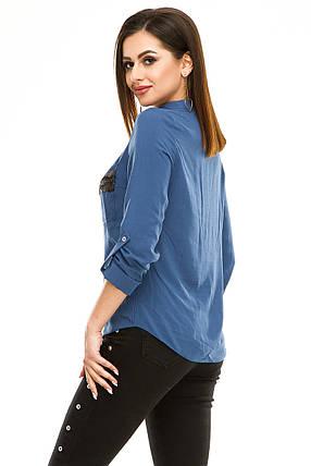 Блузка 290  джинс, фото 2