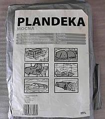 Тент от дождя и снега Plandeka 4х5м 100г/м2 Польша