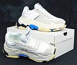 Женские кроссовки Balenciaga Triple S (Баленсиага) белые, фото 4