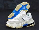 Женские кроссовки Balenciaga Triple S (Баленсиага) белые, фото 5