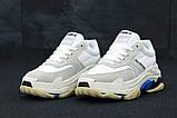 Женские кроссовки Balenciaga Triple S (Баленсиага) белые, фото 2