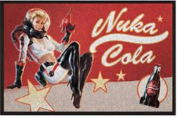 Напольный коврик Gaya Fallout Doormat - Nuka Cola Pin-Up