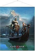 Плакат Gaya God of War Wallscroll - Father and Son