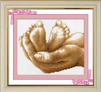 Набор для рисования камнями (холст) «Жизнь в руках» LasKo
