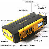 Пуско-зарядное устройство для автомобиля с экраном, повербанк для ноутбука, фото 4
