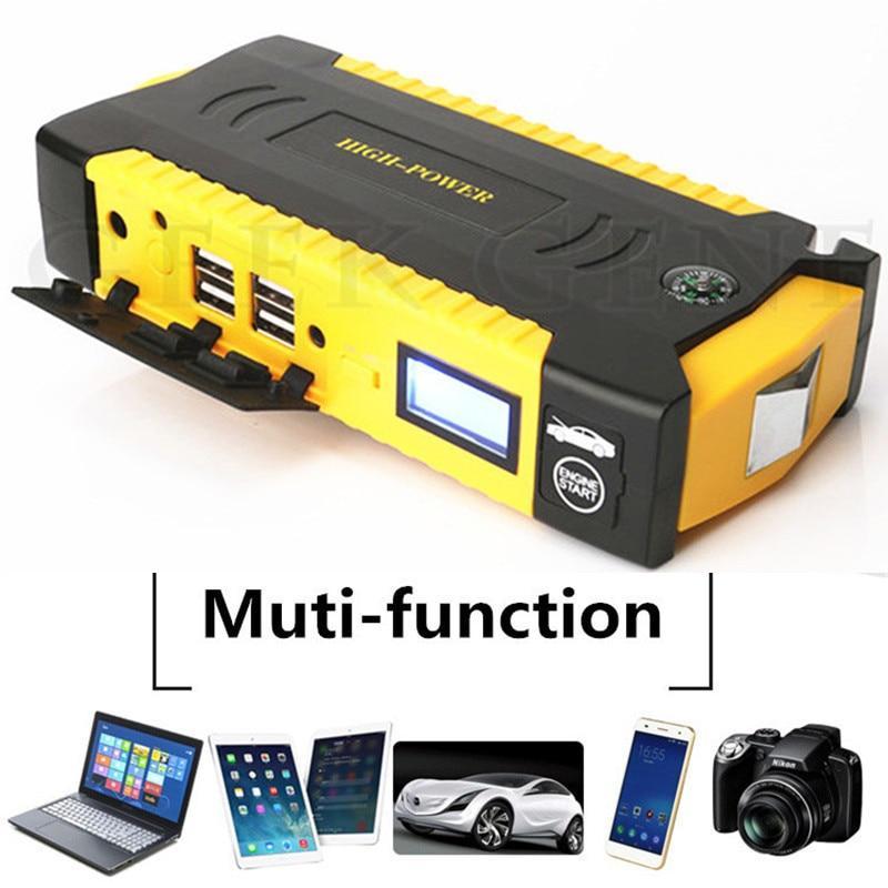 Пуско-зарядное устройство для автомобиля с экраном, повербанк для ноутбука