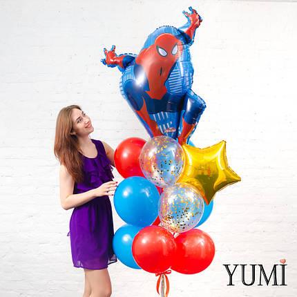 Связка из воздушных шаров для мальчика, фото 2
