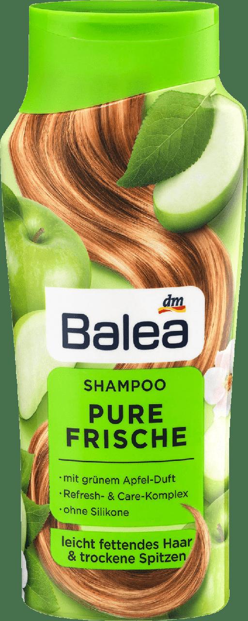 Шампунь дляжирных волос с сухими кончикамиBalea Pure Frische