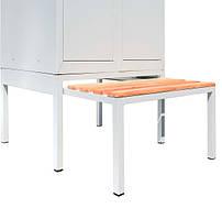 Выдвижная скамейка под шкаф шириной 600мм, СГ модель 10