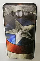 Силикон SA J710 3D Captain America black