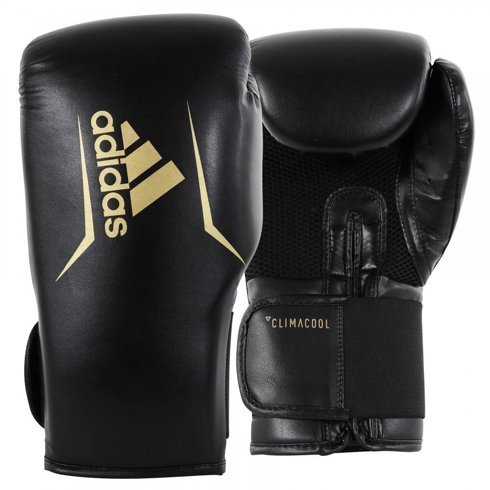 Боксерские перчатки SPEED 75 | Цвет черный с золотом