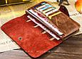 Мужское Портмоне в стиле Baellerry Long в комплекте с Ножом Кредиткой, фото 4