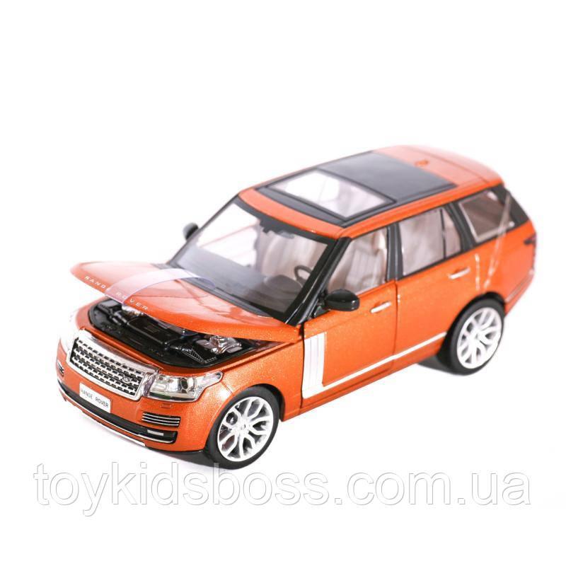 Машина Range Rover от «Автопром»