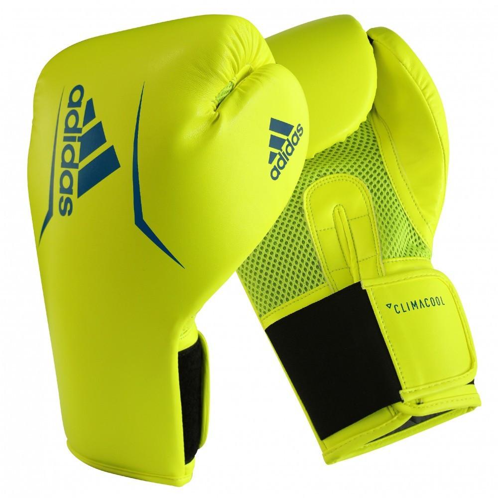 Боксерские перчатки SPEED 75 | Цвет желтый с синим