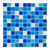 Мозаика для бассейна стеклянная Aquaviva Cristall Bahama Dark