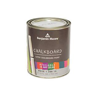 Грифельная краска Chalkboard Paint  Benjamin Moore  (307) 0,95 л. черная