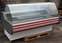 Холодильная витрина колбасная «Технохолод Невада» 2 м. (Украина), Очень широкая выкладка 80 см, Б/у , фото 1