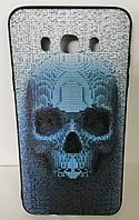Силикон для SAMSUNG (J710) 3D Scull Black