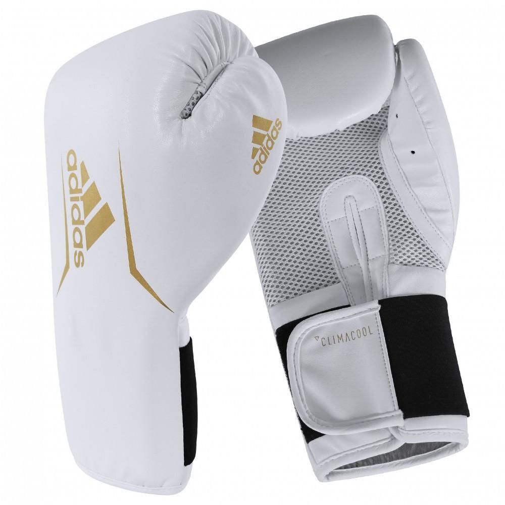 Боксерские перчатки SPEED 75 | Цвет белый с золотом