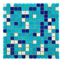 Мозаика для бассейна стеклянная Aquaviva Bahama Dark