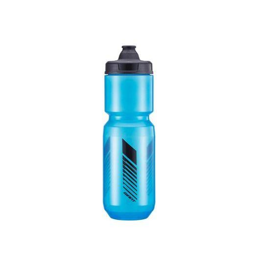 Фляга GIANT Cleanspring 750мл прозр./син./сер.(черная полоса)