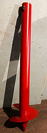 Свая винтовая (одновитковая, паля) диаметром 133 мм., длиною 1.5 метра