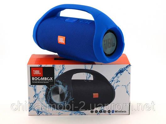 JBL Boombox mini E10 10w копия, Bluetooth колонка с FM MP3, синяя, фото 2