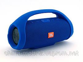 JBL Boombox mini E10 10w копия, Bluetooth колонка с FM MP3, синяя, фото 3